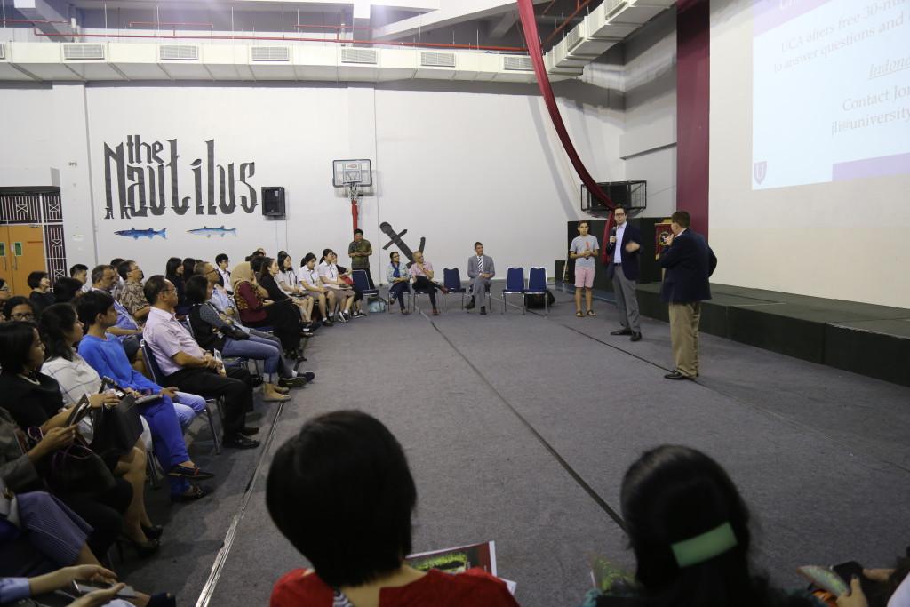 US Universities Seminar by Mr Peter