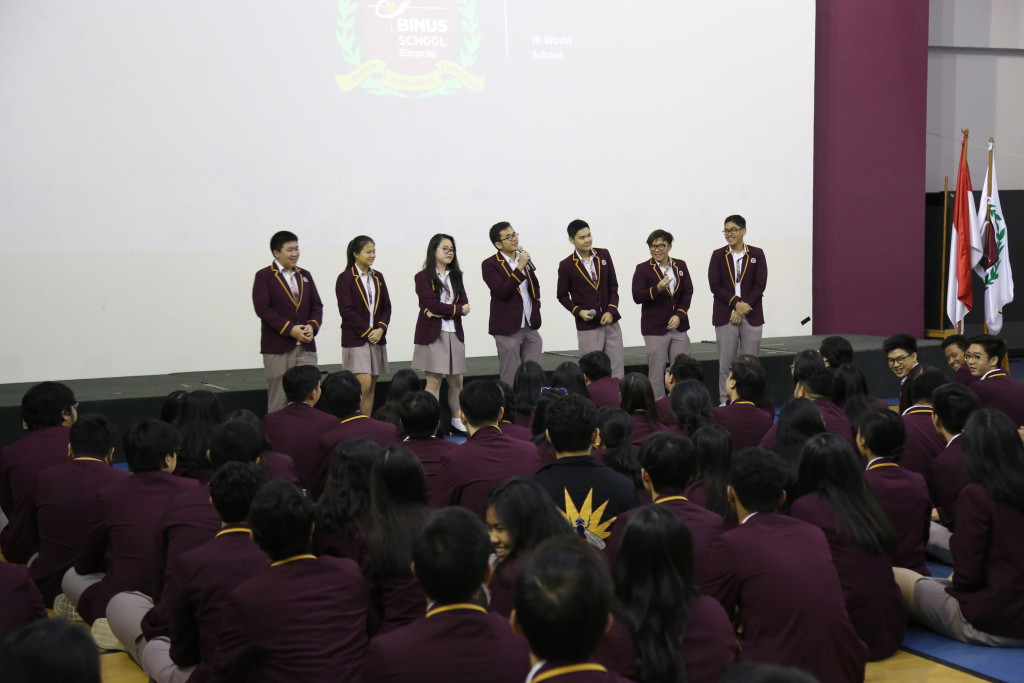 Gr 12 Salute Assembly