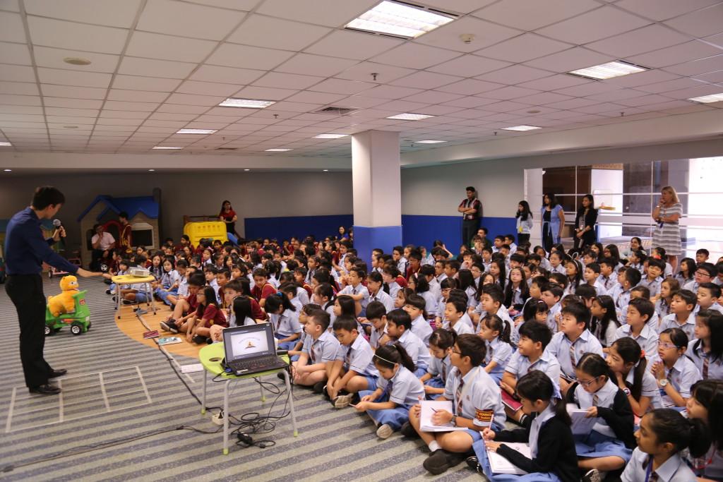 Gr 3-5 Guest Speaker from WSC