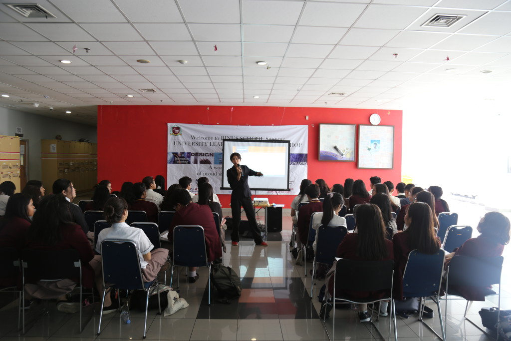 Gr 9 & 10 Binus University Workshops