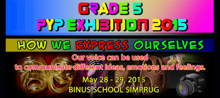 PYP Exhibitions